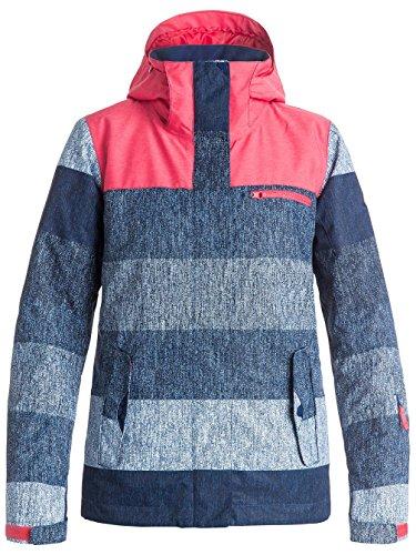 Roxy Damen Rx Jetty Blo Jk J Snow Jacket dunkelblau - rosa