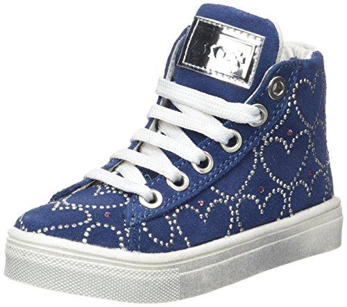 ASSO Sneaker, Baskets Hautes Fille Bleu (ming)