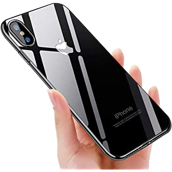 Coque iPhone Xs Max , solawill Crystal Housse iPhone Xs Max Souple Coque Silicone Absorption de