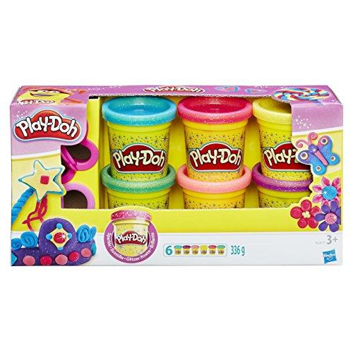 Hasbro Play-Doh A5417EU7 - Glitzerknete, ()