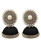 #9: Silk Thread Jimiki/Jumkha Earring By Manav Company