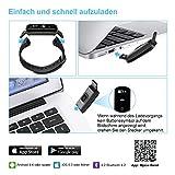Mpow Fitness Tracker mit Pulsmesser, Wasserdicht Fitness Armbänder Intelligente Armbanduhr Aktivitätstracker Pulsuhr Schrittzähler Uhr Smartwatch Anruf SMS Beachten für iOS Android Handy - 6