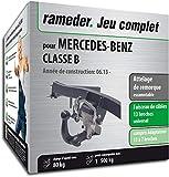 Rameder Attelage escamotable pour Mercedes-Benz Classe B + Faisceau 13 Broches...