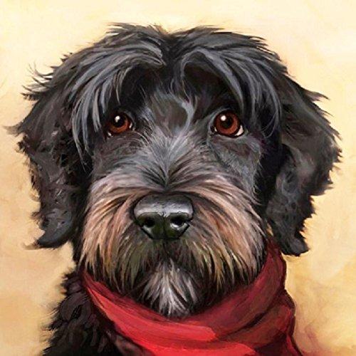 DIY 5D Diamant Malerei, yuyoug Kristall Strass Tiere Stickerei Bilder Arts Craft für Home Wand-Decor Cute Dogs, B, Einheitsgröße