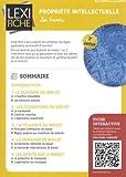 Telecharger Livres Propriete intellectuelle Les brevets (PDF,EPUB,MOBI) gratuits en Francaise