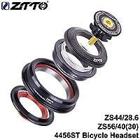 ETbotu - Juego de cojinetes para Bicicleta ZTTO CNC ZS44 / ZS56 MTB Bicicleta de Carreras, Juego de dirección, Horquilla Tubular cónica, Rosca Interior