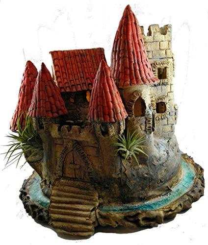 Keramik Burg Feengarten Elfenland