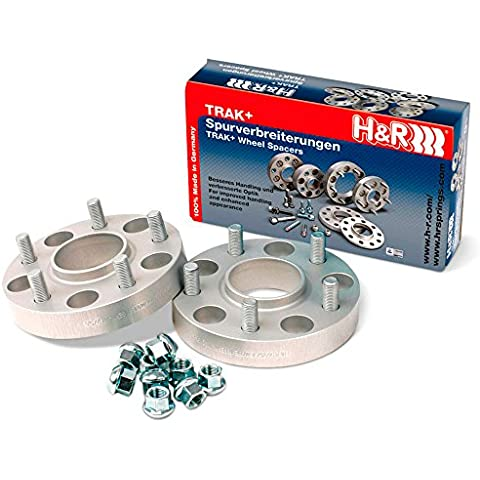 H & R HS 402454101 drs-system Wheel Spacer Set, 40 mm per asse