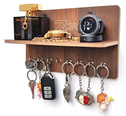 7CR Wall Shelves with Key Holder