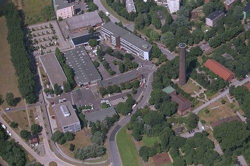 MF Matthias Friedel - Luftbildfotografie Luftbild von Ausschläger Elbdeich in Hamburg (Hamburg), aufgenommen am 30.07.99 um 12:38 Uhr, Bildnummer: 0780-03, Auflösung: 3000x2000px = 6MP - Fotoabzug 50x75cm