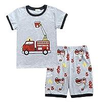 Toddler Boys Pajamas Easter Little Kids Pjs Sleepwear Short 2 PCS Clothes Sets - - 12-24 Months