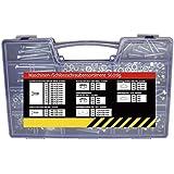 SECOTEC hochwertiges Gewindeschrauben-Sortiment im praktischen Kunststoffkoffer 560-teilig.