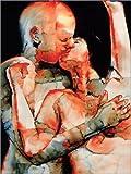 Poster 100 x 130 cm: The Kiss di Graham Dean/Bridgeman Images - stampa artistica professionale, nuovo poster artistico