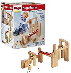Haba 1136 HABA Kugelbahn-Bausatz, Holzkugelbahn