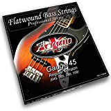 Best Bass Strings - Adagio Flatwound Electric Bass Guitar Strings 45-100 Nickel Review