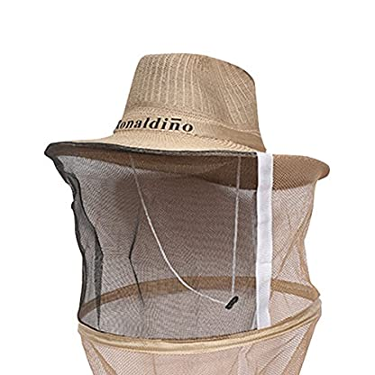 Farm & Ranch Beekeeping Cowboy Hat Mosquito Bee Insect Net Veil Head Face beekeeper equipments 2