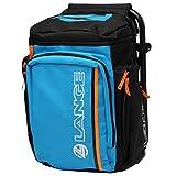 Lange Lange Backpack Seat Taschen und Rucksäcke für Skiausrüstung, Blau 55 L Orange