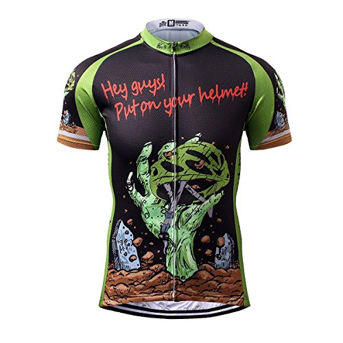 s® Herren Horror Halloween Sport & Freizeit MTB Fahrradbekleidung Radtrikot 3X-Large ()