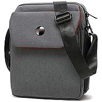 NO BRAND TEYUN Bolso de la Tableta Casual 8 9 10 Bolsa de Hombro Inch (Color : Gray, Size : 10inch)