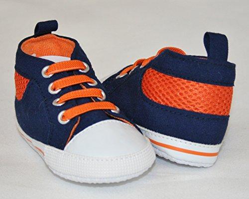 Scattee , Jungen Sneaker rot 12-18 Monate orange