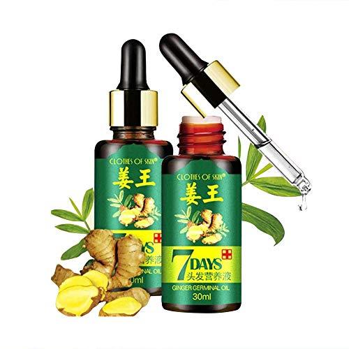 Mimiga 30 ml Hair Growth Essence Liquid Schnelles Haarwachstum Natürliche Haarausfall Behandlung Arten von Haarausfall-Haarbehandlung natürliches pflanzliches gesundes