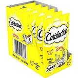 CATISFACTIONS - Au fromage - Friandises pour chats - Sachet de 60g - Lot de 6