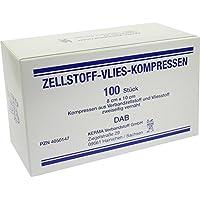 ZELLSTOFF VLIES KOMPRESSEN 8x10 cm unsteril 100 St Kompressen preisvergleich bei billige-tabletten.eu