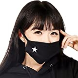 HugeStore, Mascherina per viso con filtro antipolvere, 5pezzi, in cotone...