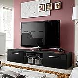 Paris Prix - Meuble TV Design Bono II 180cm Noir