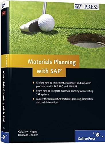 Materials Planning with SAP: SAP ERP and SAP APO by Marc Hoppe (2009-07-28)