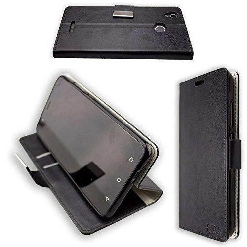 caseroxx Hüllen/Taschen für Das Gigaset GS270/GS270 Plus (Bookstyle-Case, schwarz)
