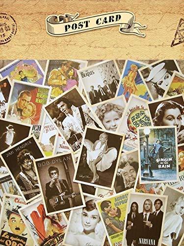Gwill 30 Stücke Vintage Postkarten, alte Retro-Reise-Postkarten zum Sammeln, Geschenk (amerikanische Anzeigen)