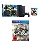 PlayStation 4 - Konsole (1TB, schwarz) inkl. Call of Duty: Infinite Warfare Legacy Edition (Code) + For Honor