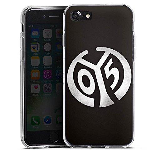 Apple iPhone 7 Hülle Case Handyhülle 1. FSV Mainz 05 e.V. Fanartikel Bundesliga Fußball Silikon Case transparent