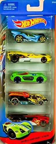 Hot Wheels Double Jump Duel 5 Pack (BFB25) by Mattel | Prix Modéré