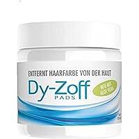 Dy-Zoff - Dischetti per rimuovere macchie di tinta per capelli, confezione da 80