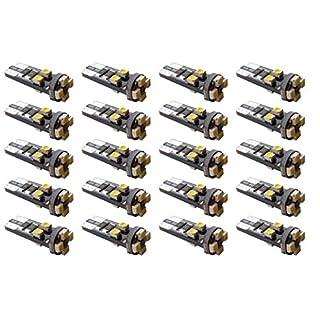 T10 8 SMD LED 501 Side Light Bulb Superb Brightness (20)