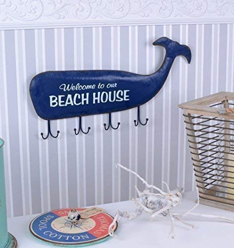 Maritim Hakenleiste Garderobe Strandhaus Wandhaken Hamptons Haken Palazzo Exclusiv