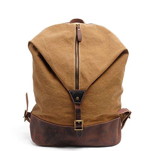 Nuovo, retrò, personalità, moda, borsa esterna, zaino, sacchetto di tela, B0131