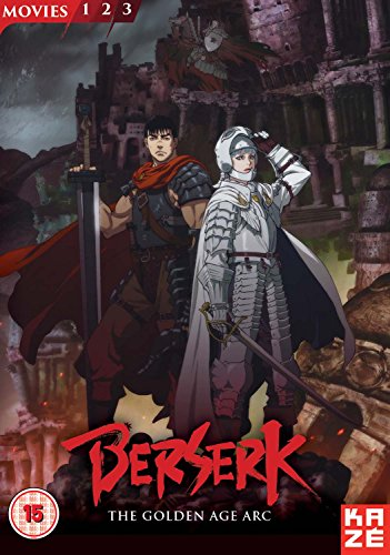 Golden Collection (Berserk: The Golden Age Arc Movie Collection [3 DVDs] [UK Import])