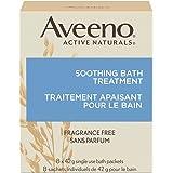 Aveeno Lugnande badbehandling för klåda, irriterad hud, paket med 8