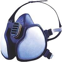 3M 4255 Máscara sin mantenimiento para partículas, gases y vapores FFA2P2 R D (1 máscara/bolsa), Certificado de seguridad EN