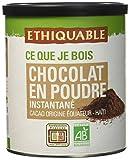 Ethiquable Cacao en Poudre Instantané Equateur/Haïti Bio et Équitable...