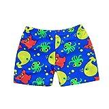Yanhoo Kinderkleidung, Kinder Bikinihose Jungen Cartoon Print Active Stretch Sommer Beach Badeanzug Bademode Hosen Shorts Druckwinkel Boxer Badehosen (L2, Blau)