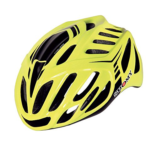 Suomy Casco bici Timeless giallo / nero taglia L (Caschi MTB e Strada) / Road helmet Timeless yellow / black size L ( Mtb and Road Helmet)