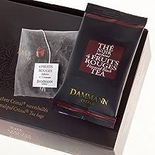 Té Negro 4 Frutos Rojos DAMMANN FRÈRES 24 sobres Cristal France thé black teabags (Fra)