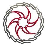 XLC Bremsscheibe BR-X02, Silber/Rot, Durchmesser 160 mm