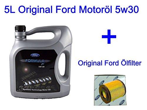 5L Original Ford Motoröl 5w30 B-MAX C-MAX Fiesta VI Focus Fusion 1.4 1.6 TDCI
