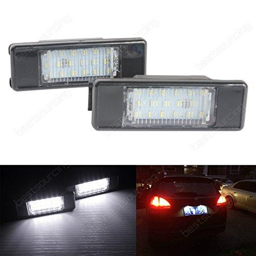 Preisvergleich Produktbild ANGRONG 6340 G9,  6340 A5,  6340 G3,  6340 F0 LED Kennzeichen Beleuchtung Nummernschild Kennzeichenbeleuchtung keine Fehlermeldung
