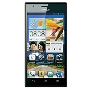 Huawei Ascend P2 Smartphone (11,9 cm (4,7 Zoll) Touchscreen, 13 Megapixel, 16 GB Interner Speicher, Android 4.1 (Jelly Bean)) schwarz